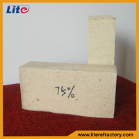 High Strength wear resisting high alumina spalling resistance brick