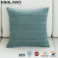 Cheap Price Suede Soft Cushion Covers home decorative pillow case