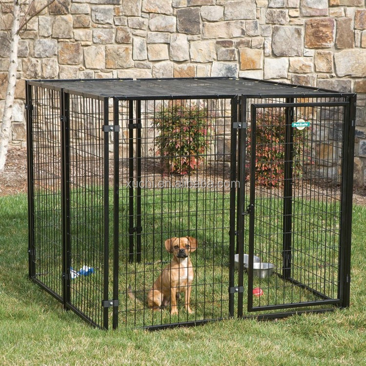 alibaba hot sale high quality pet resort kennel with cover