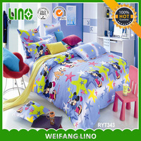bed set/mickey bedding/fabric painting designs bed sheets