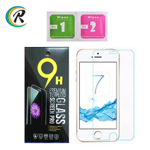 Shenzhen 9h milo tempered glass screen protector for iPhone7 die cutter for mobile screen protector