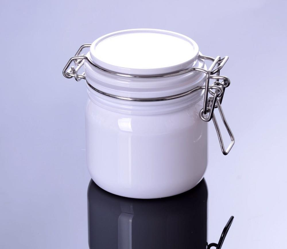 h cosmetic face mask plastic cream jar for personal skin care