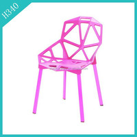 Color Bright wholesale Plastic Chair In Outdoor