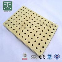 mdf wall board wooden perforated acoustic sound absorbing panel acoustic panels sound block panel for auditorium