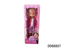 "18"" Doll W/Music doll barbie dress up game for girls"