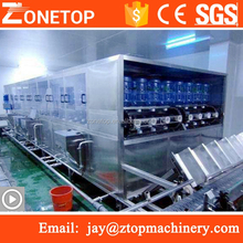 Guangzhou automatic 5 gallon barrel 18.9 l plastic bottle washer 18.9 litres plastic jar water filling capping machine