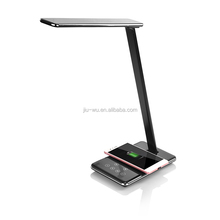 Bed room night light color changeable Table lamp led wireless charging USB desk lamp