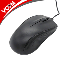 Factory Bulk Cheap optical Computer Mouse Black Mini USB Wired Mouse For Computer
