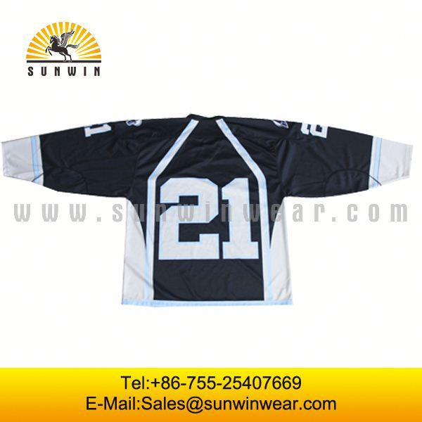 manufacture cheap roller hockey jersey for your numbers and letters