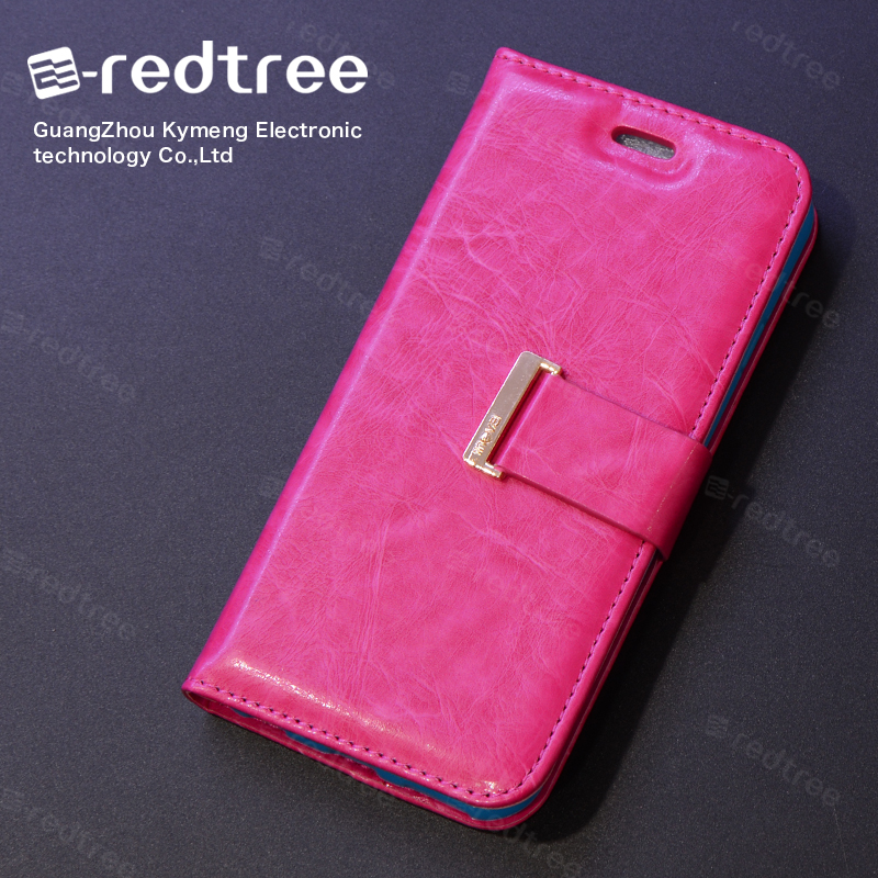 High-end Durable PU Leather Flip Cell Phone Case Cover for Iphone 6s 7