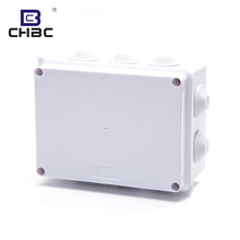 CHBC White Colour Electric IP65 Waterproof Plastic Switch Box