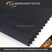 China direct factory new design 50% polyester 50% wool worsted twill italian wool suit fabric