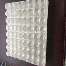 OEM high quality silicone furniture bumpers with clear color