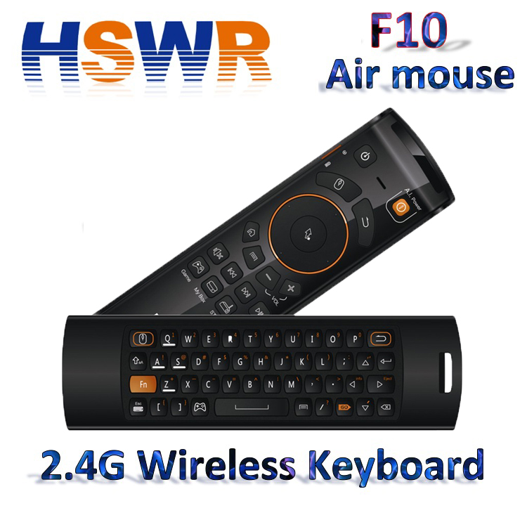 Air Mouse Mele F10 wireless Air Mouse with Keyboard for Smart TV
