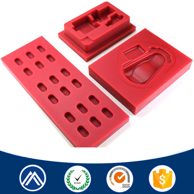 New hot selling products high precision abs/pom cnc machining nylon block