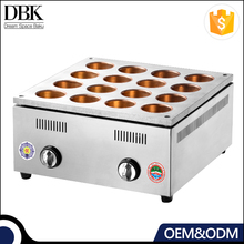 DBK (16 holes) Commercial heating Red Bean Cake Machine Electric Wheel Pie
