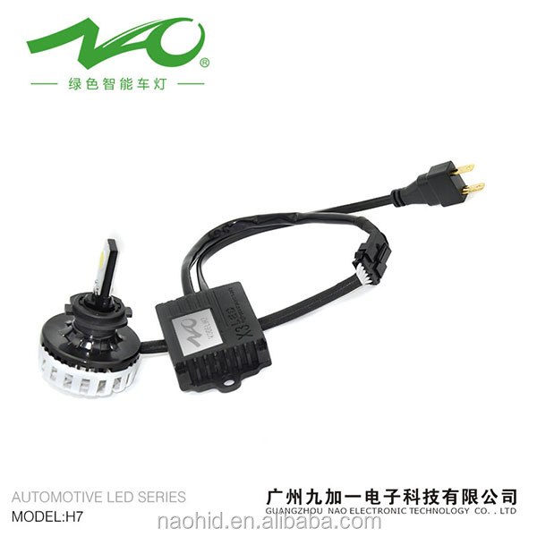 Car led headlight 35W 3200lm best quality replace hid kit xenon h7 55w