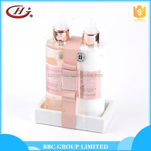 Moisturising and whitening hand wash with hand cream lotion gift set luxury skin care bottles