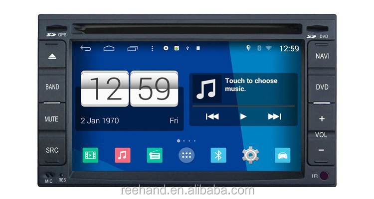 "6.2"" S160 Android 4.4 car accessories maiker , player video for universal old with GPS navigation/Wifi/3G/DVR"