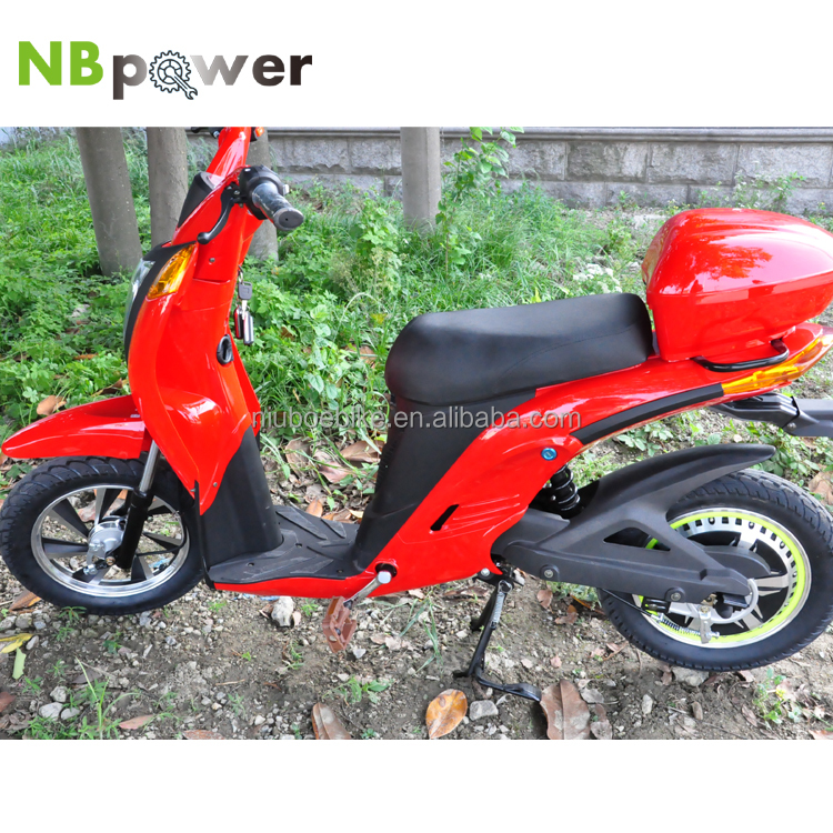 48V20AH Lithium Battery Powered Electric Scooter