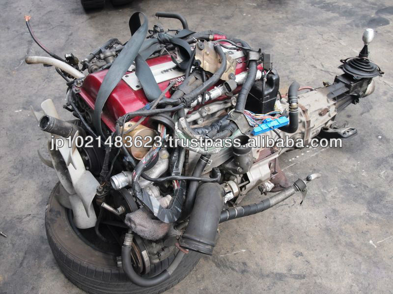 Japanese used automobile traders engine motor and name of parts of diesel engine S13 S14 S15 Silvia 200sx SR20DET