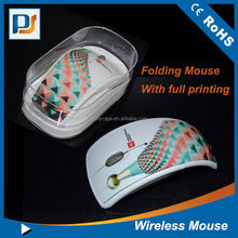 Silk Screen Printing Combo Laser Engraved Logo Wireless Mouse LED Light Logo Mouse