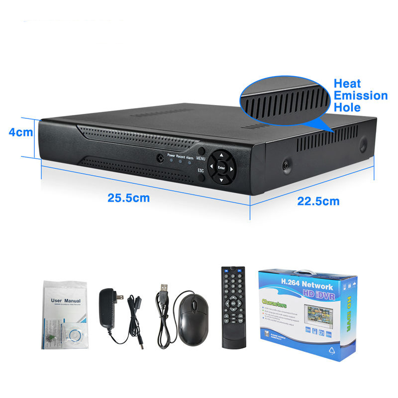 32 Channel 1080P Realtime tvt dvr