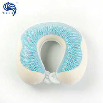 airplane neck pillow with gel