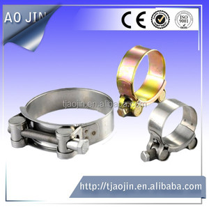 High Quality Wall Mount Pipe Clamp, Hydraulic Pipe Clamp, Stainless Steel Pipe Clamp
