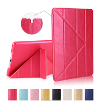 Wholesale Colorful Smart PC+PU Leather Case Folio Stand Flip Cover for iPad Air