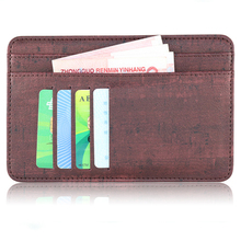 New Arrival Cheap Slim Genuine Leather Travel Passport Holder Pouch with Coin Sleeve