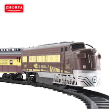 kids classic battery operated express passenger toy ho scale model train with track