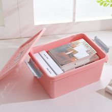 All color available useful household living room thin plastic storage containers