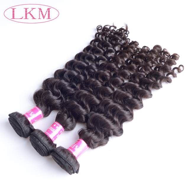 Full cuticle aligned no tangle no shedding soft and thick could be dyed Virgin Peruvian hair weaving deep wave
