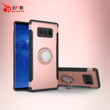 Sublimation kickstand pgone case for samsung galaxy note 8,tpu pc phone case for samsung galaxy note 8 note 8 plus