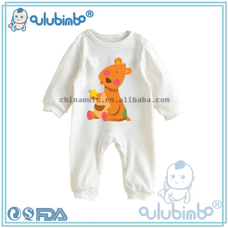 oulu tc2052 baby clothes wholesale newborn animal costumes thick warm winter baby jumpsuit romper