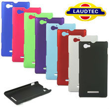100% Perfect Fit New Arrival Xperia M Cover Case Hybird Rubber Hard Case for Sony Xperia M C1904 C1905 Laudtec