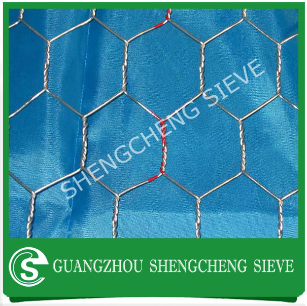 Galvanized or pvc coated hex wire mesh fence chicken fence