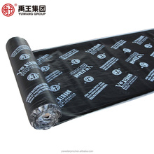 Underlayment waterproof bitumen membrane self-adhesive fast applied