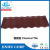 1340*420mm Red color bond stone coated roof tile