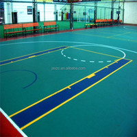Non-Slip PVC Sports Court Flooring For Basketball/Badminton/Tennis/Volleyball/Fitness