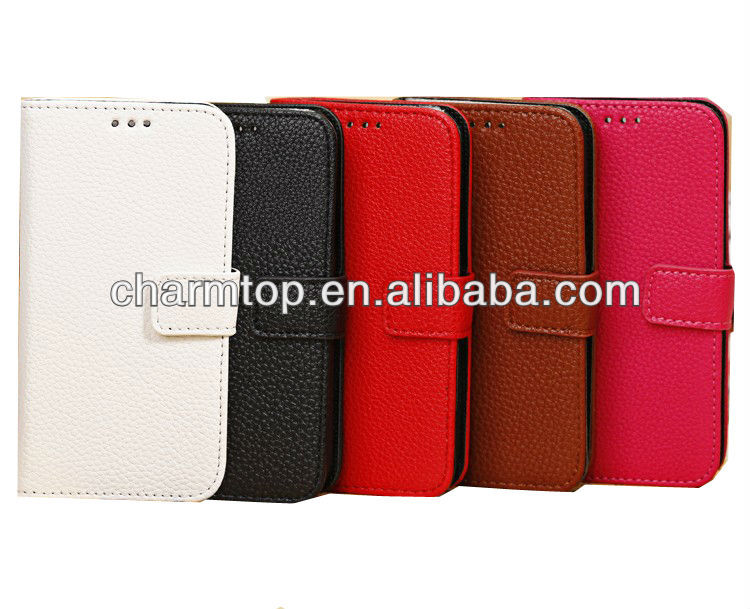 Galaxy S4 Mini Leather Wallet Case with Card Slots