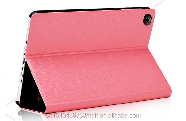 Fashion case cover for ipad mini 4, for ipad mini4 stand leather case