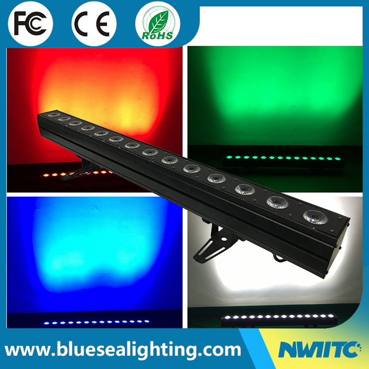 IP65 Waterproof dmx 14x10w rgbw 4in1 outdoor light led wall washer