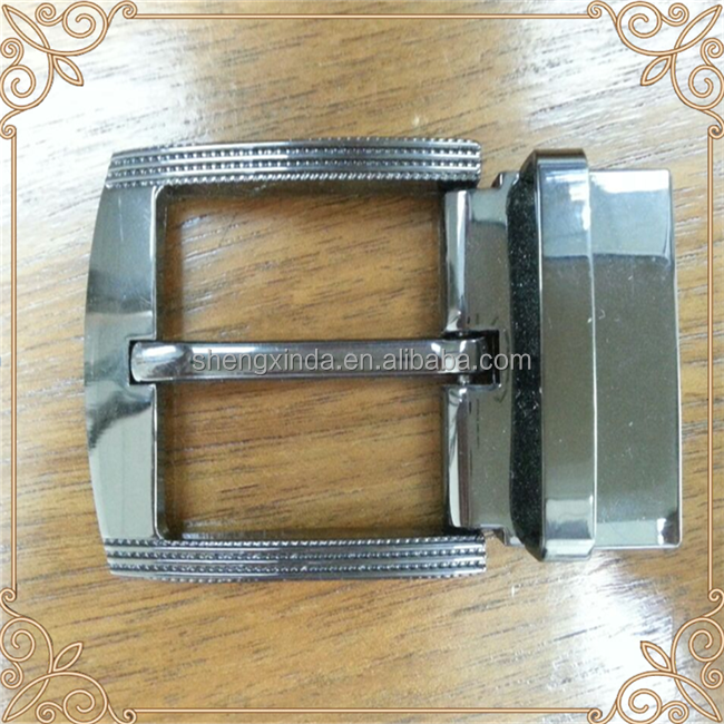 made in china factory handmade high quality zinc alloy rotating belt buckle