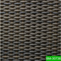 100% HDPE Hand Woven Rattan Material for Spa Surrounding