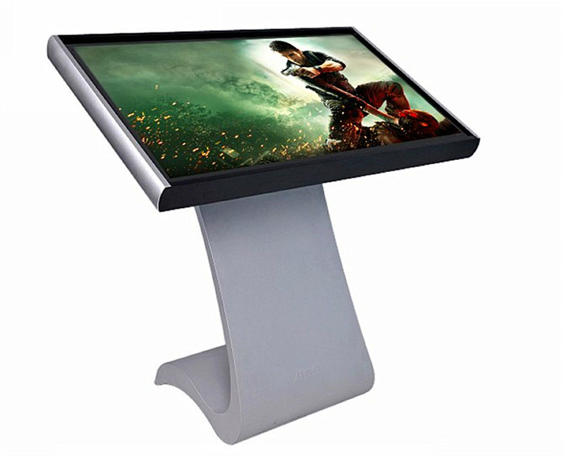 42 inch outdoor kiosk table pc touch screen kiosk with built-in print