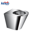 Front Access, Off-Floor, Blowout Jet Stainless Steel Replacement Security Toilet