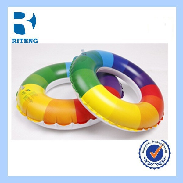 OEM PVC inflatable swimming inflatable life ring