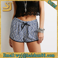 Tribal Print Dolphin Summer Women Print Shorts